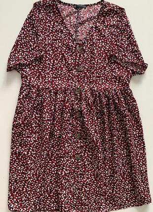 Стильное летнее платье в актуальный анималистичный принт shein