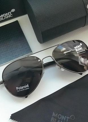 Мужские очки mont blanc авиатор комплект