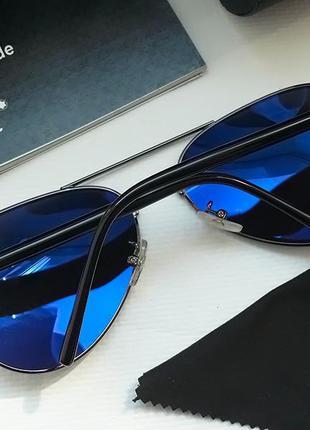 Мужские очки mont blanc авиатор комплект4 фото