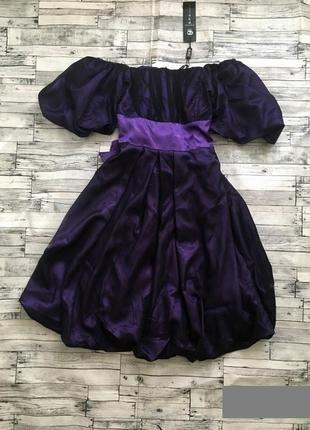 Роскошное фиолетовое платье, 42-44р.