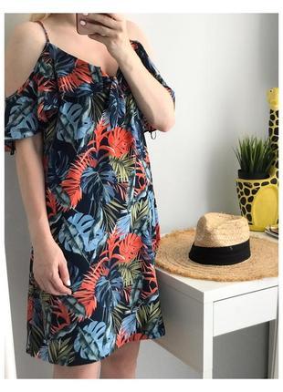 Шифонова квітчаста сукня george, s-m