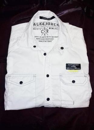 Рубашка jack jones originals new размер s