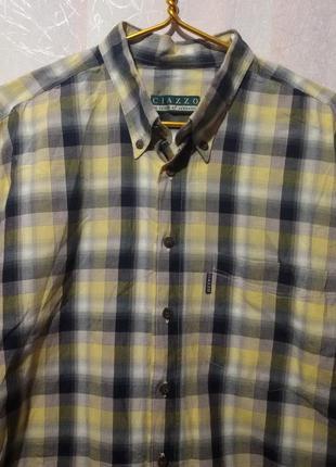 Фирменная котоновая рубашка пог-75 см ciazzo