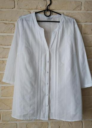 Натуральная, лёгкая рубашка