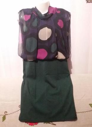 Хорошенькое платье (пог 47-55, поб 48-50 см)