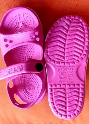 Новые босоножки сандалии кроксы