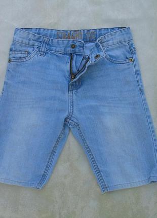Шорты джинсовые рост 128 см