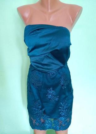 Вечернее платье шикарного цвета