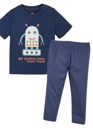 Хлопковая пижамка для мальчика lupilu германия