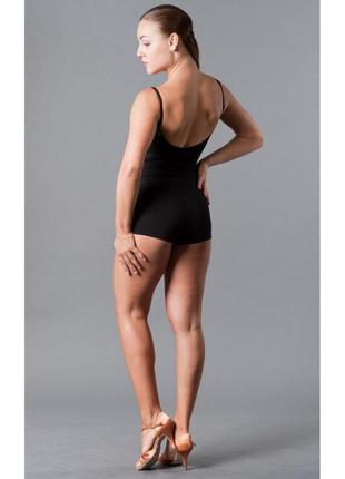 Dance me шорты женские , бесшовные,черные.