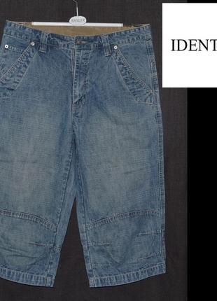 Бріджі джинсові чоловічі identic w32 s-m [німеччина] (шорты джинсы мужские)