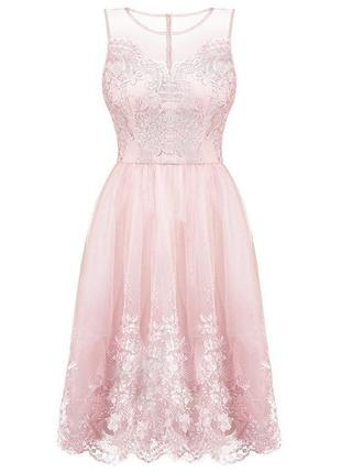 Брендовое вечернее платье на выпускной / платье подружке невесты