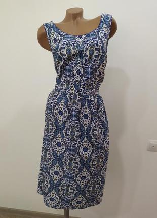 Котоновое платье tu