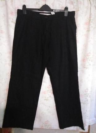 Легкие брюки лен/вискоза