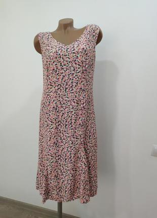 Вискозное платье m&s