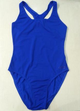 Beco. голубой спортивный сдельный, слитный купальник