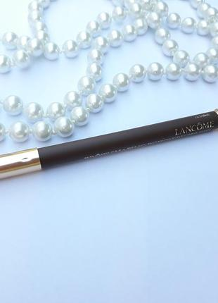 Карандаш для бровей lancome brw shaping powdery pencil
