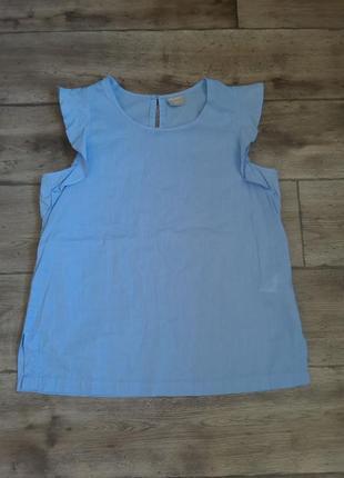 Миленькая легкая батистовая блузка blue motion. оригинал