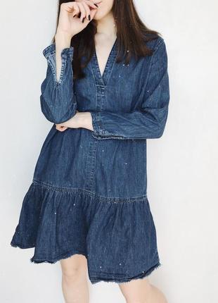Джинсовое платье gap