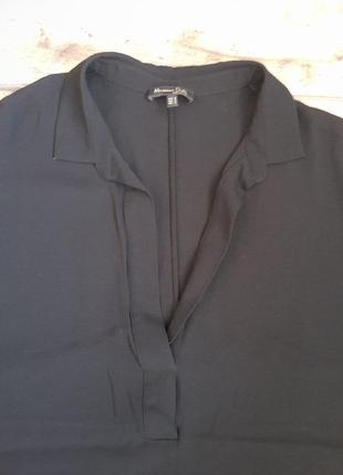 Стильная блузка футболка massimo dutti. оригинал5 фото