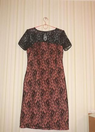 Летнее вечернее платье с сеткой dioni
