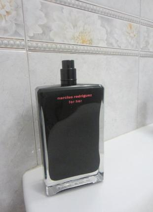 Narciso rodriguez for her edt 100 ml без крышки нюанс