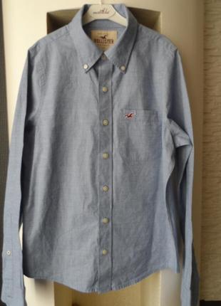Hollister ,стильная рубашка дорого бренда, р.s,в идеае