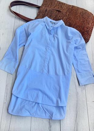 Сорочка,рубашка котонова  cos