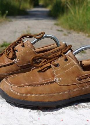 Чоловічі туфлі, мокасіни clarks structured