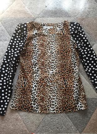 Кофта з леопардовим принтом vero moda