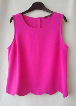 Актуальный топ, футболка atmosphere розового цвета р. 16