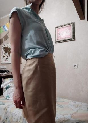 Блузка короткие рукава