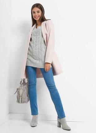 Туника-пуловер с жемчужинами orsay! германия, отменное качество! роскошный!
