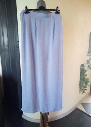 Летняя юбка в пол,большой размер