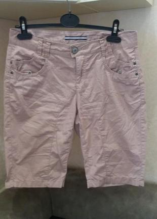 Нюдовые шорты в стиле casual бренд-street one-36р