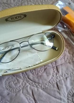 Новая, титановая оправа tod's унисекс очки made in italy1 фото