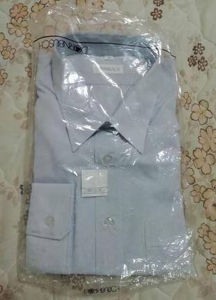 Рубашка мужская dornbusch размер xxl-54-44 ворот 44