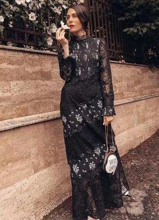 Exclusive! платье erdem h&m.