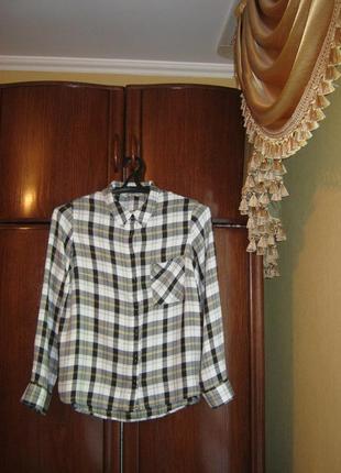 Рубашка f&f, 100% вискоза, размер 14/42