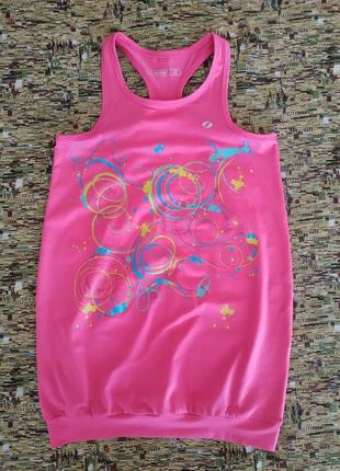 Стильное яркое спортивное платье туника soc