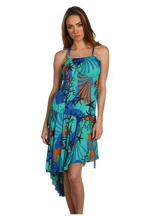 Летнее пляжное платье версаче versace италия, оригинал!1 фото