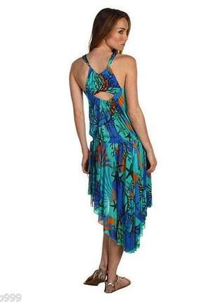 Летнее пляжное платье версаче versace италия, оригинал!2 фото