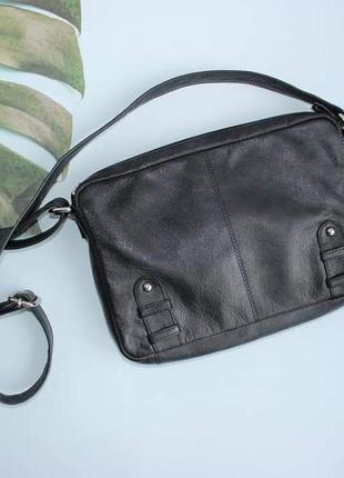 Taurus кожаная вместительная сумка через плечо сумочка