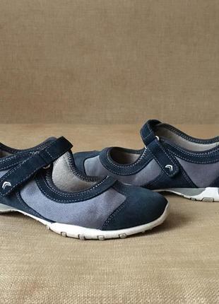 Шкіряні туфлі, балетки, мокасины geox, оригінал, 38-39 розмір4 фото