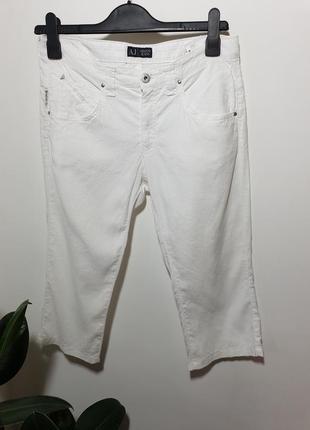 Льняные шорты  armani