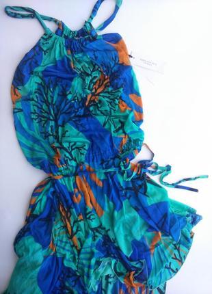 Летнее пляжное платье версаче versace италия, оригинал!4 фото