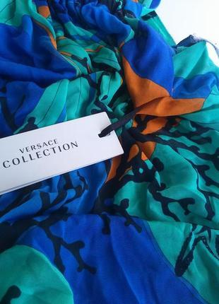 Летнее пляжное платье версаче versace италия, оригинал!5 фото