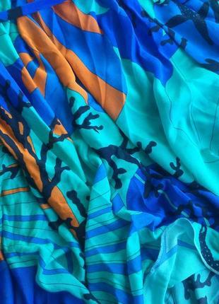 Летнее пляжное платье версаче versace италия, оригинал!8 фото