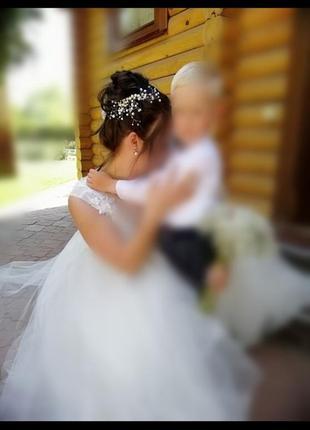 Свадебное украшение, заколка для волс