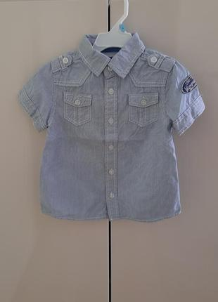 Сорочка на короткий рукав unlocked на 3-4 роки.